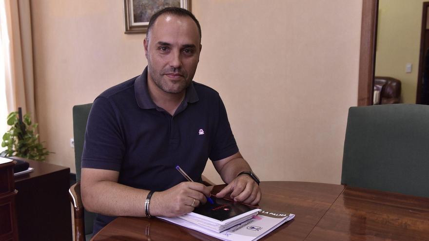 Luis Javier Camacho, consejero insular de Hacienda y Recursos Humanos del Cabildo de La Palma.