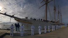 El Juan Sebastián Elcano para en EE.UU. antes de celebrar V Centenario en Cuba