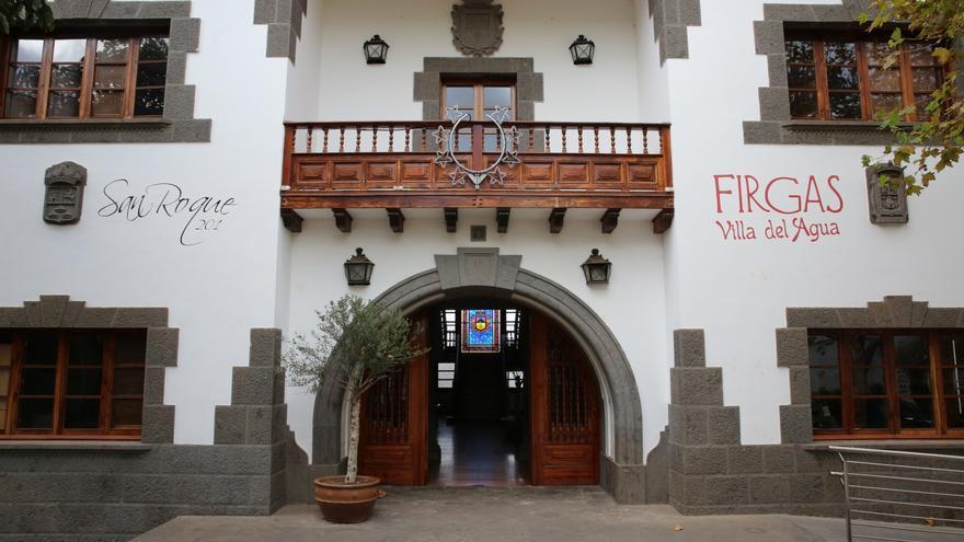 Fachada del Ayuntamiento de Firgas