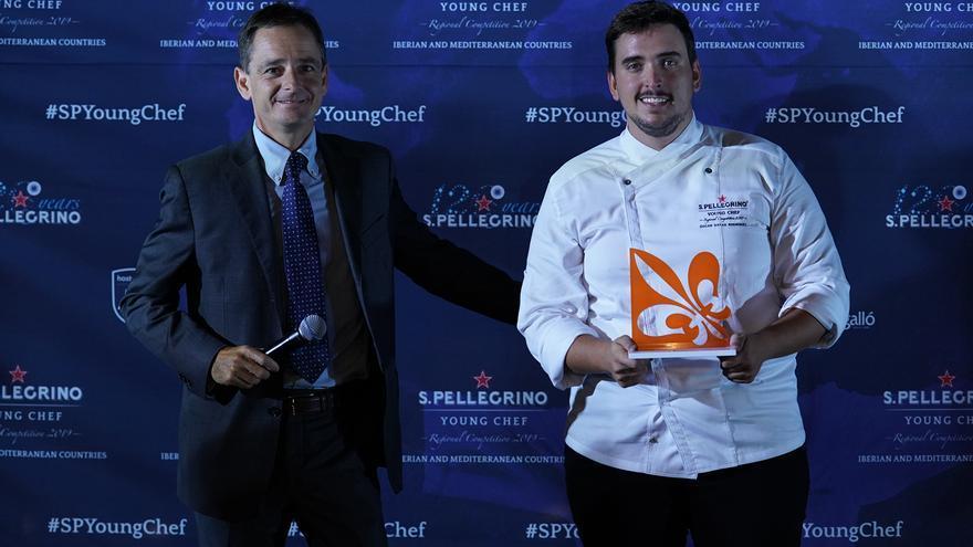 Óscar Dayas, chef del estaurante MAR Gastrotasca (Las Palmas de Gran Canaria).