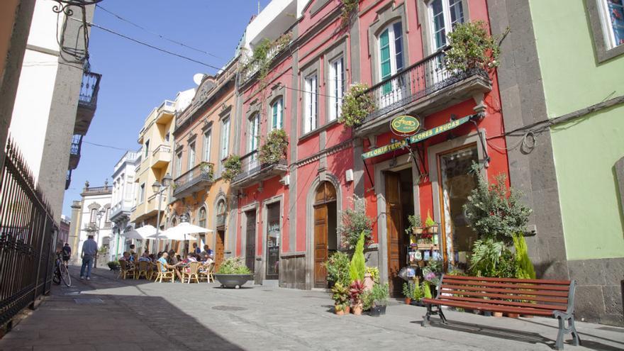 Calle León y Castillo (Ayuntamiento de Arucas)