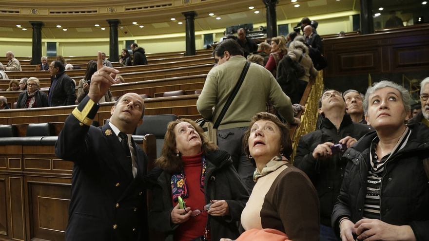 Más de 68.000 ciudadanos han visitado el Congreso de los Diputados en el último año, un 27% más