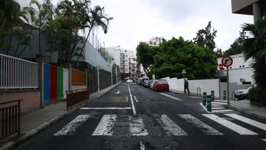 Calle José López de la capital.