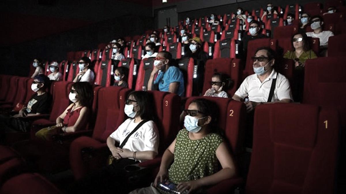 Una sala de cine en épocas de Covid-19