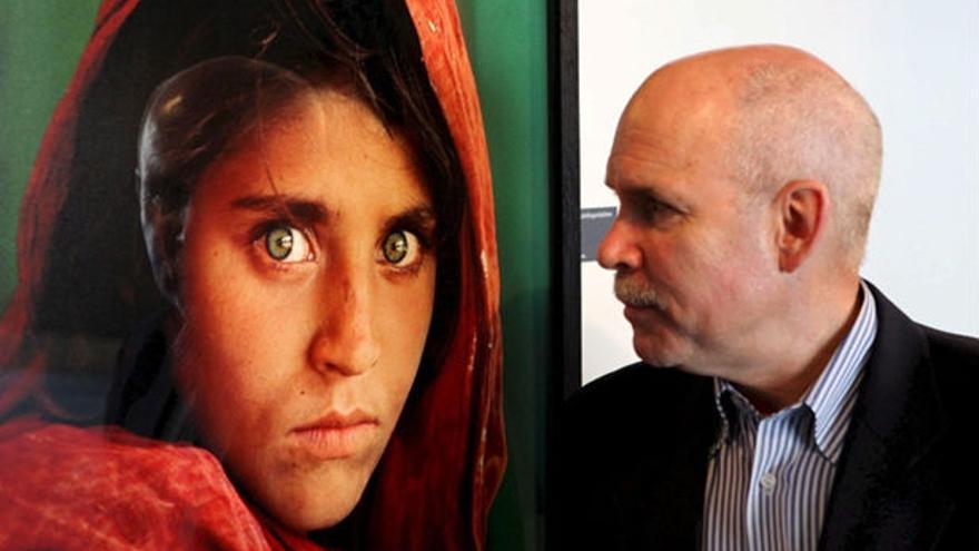 Steve McCurry, fotógrafo de 'La chica afgana'