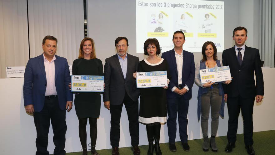 Premiadas en el programa Sherpa 2017