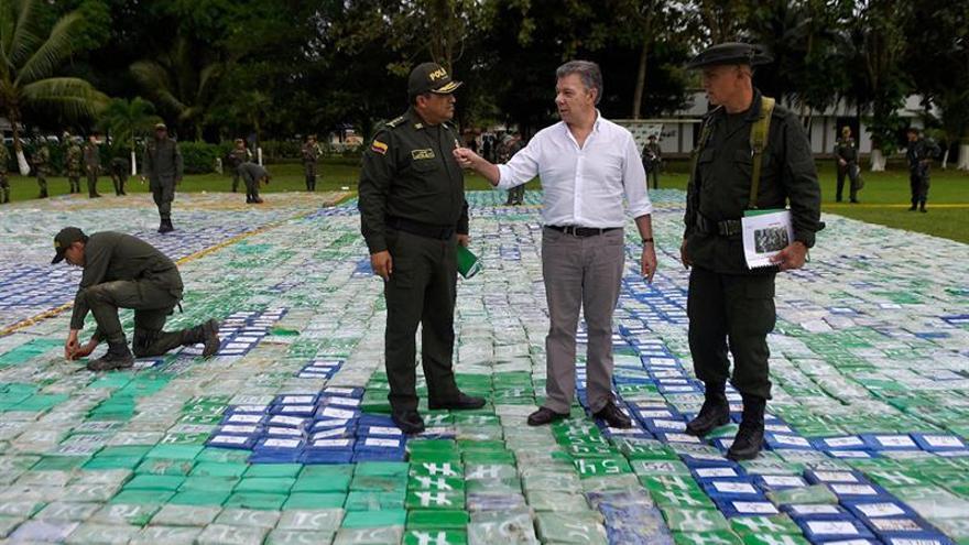 La Policía colombiana incauta más de 12 toneladas de cocaína del Clan del Golfo