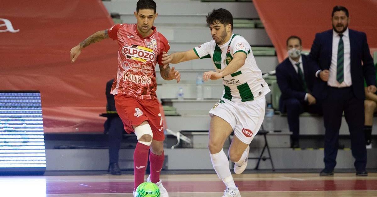 ElPozo Murcia gana en Córdoba y es líder a falta de una jornada
