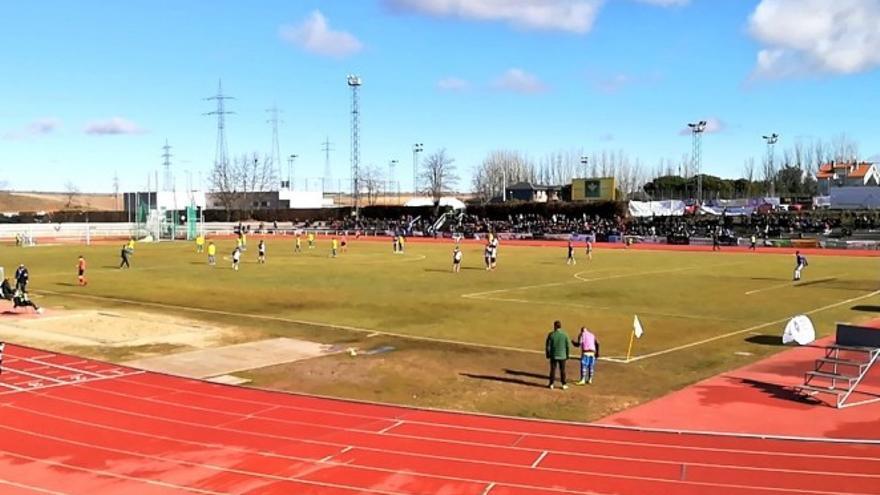 Derrota de Las Palmas Atlético en Salamanca.