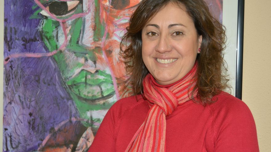 Carmen María Pina, concejal de IU-V en Alcantarilla