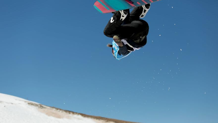 Josito Aragón, la joven promesa del snowboard español