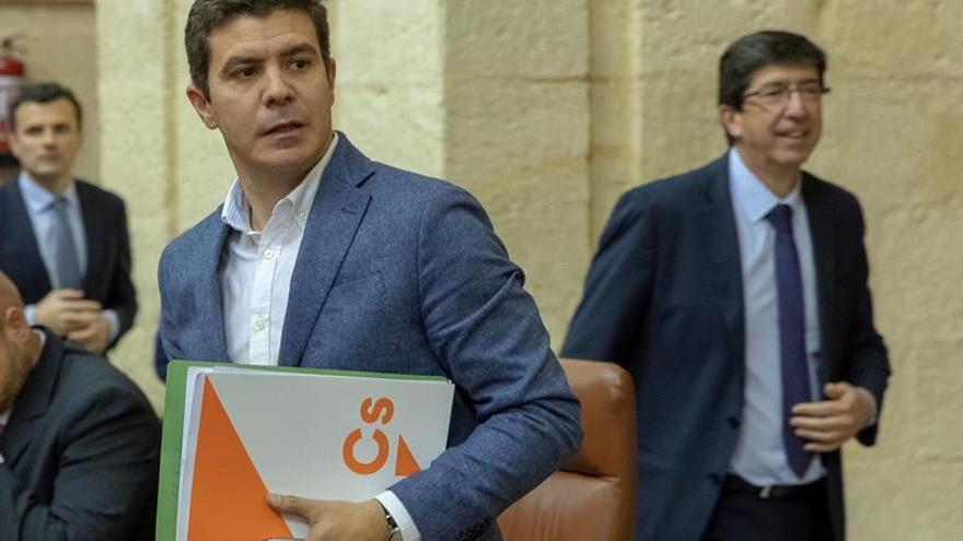 Ciudadanos equipara su relación con Vox con la de Adelante Andalucía