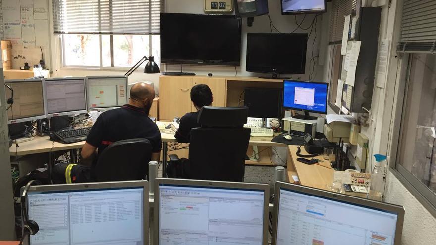El Centro de Comunicaciones de Bomberos que se trasladará del Parque Central al de Ciutat Vella