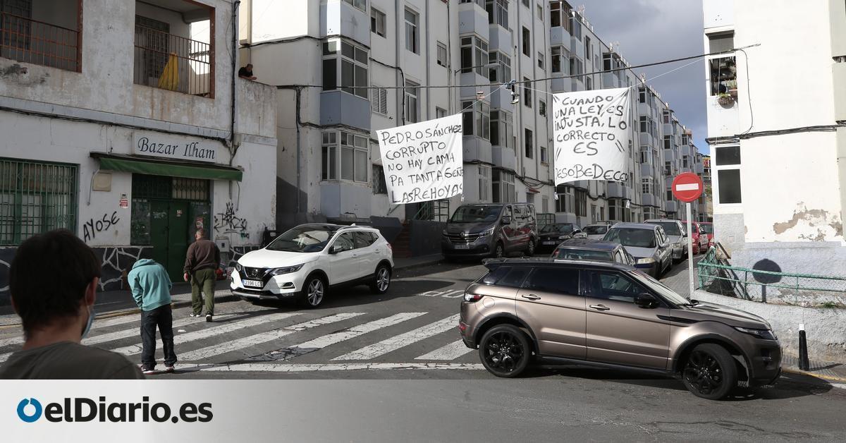 La tensión por la convivencia con migrantes bloqueados se propaga por Gran Canaria:   El ambiente se está caldeando