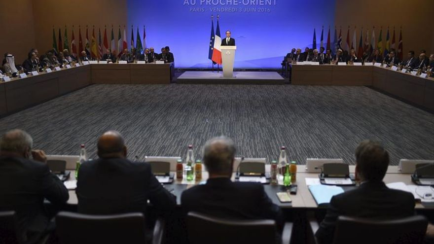 Israel censura y la OLP felicita el apoyo de la UE a la conferencia internacional
