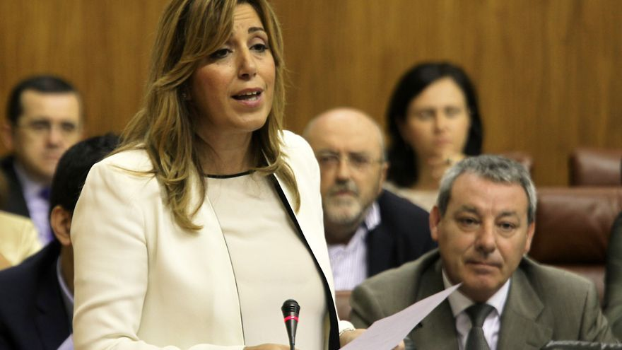 Susana Díaz irá a los tribunales cada vez que haya menoscabo de fondos públicos, afecte a quien afecte