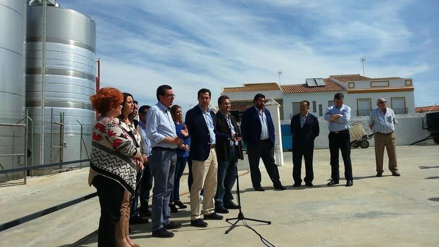 """Moreno (PP-A) no facilitará la investidura de Díaz y recuerda que """"va a hacer oposición, pero no sumisión"""""""