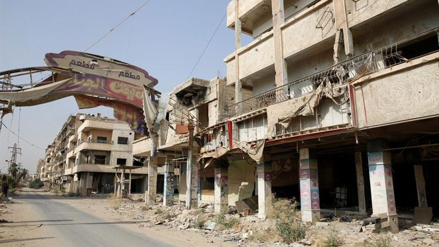 Facciones sirias renuevan los ataques contra el extrarradio nororiental de Damasco