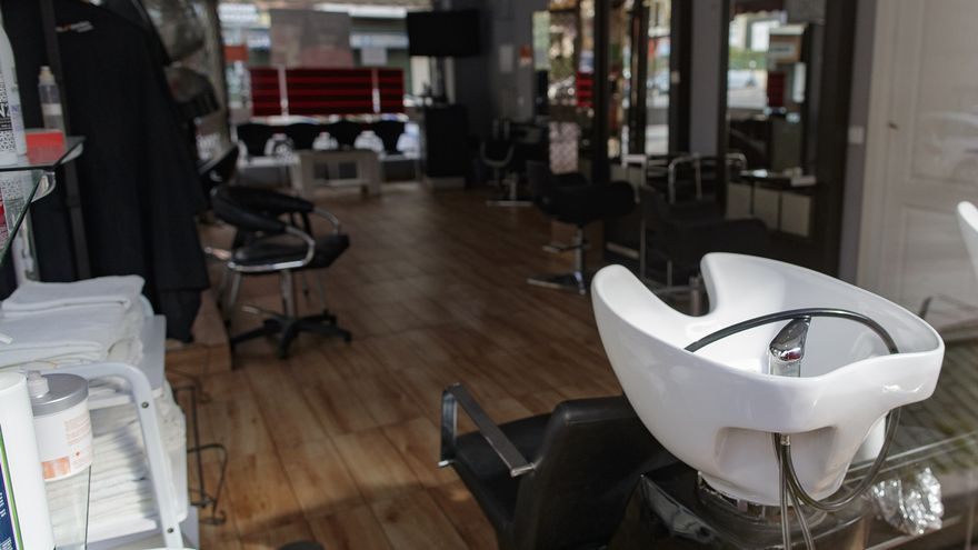 Imagen de archivo de una peluquería.