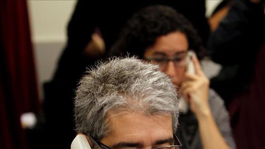 """Homs asegura que el Govern está """"absolutamente tranquilo"""" ante posible querella"""