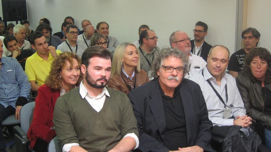 ERC aprueba que Rufián y Tardà encabecen la lista al Congreso y Santi Vidal al Senado