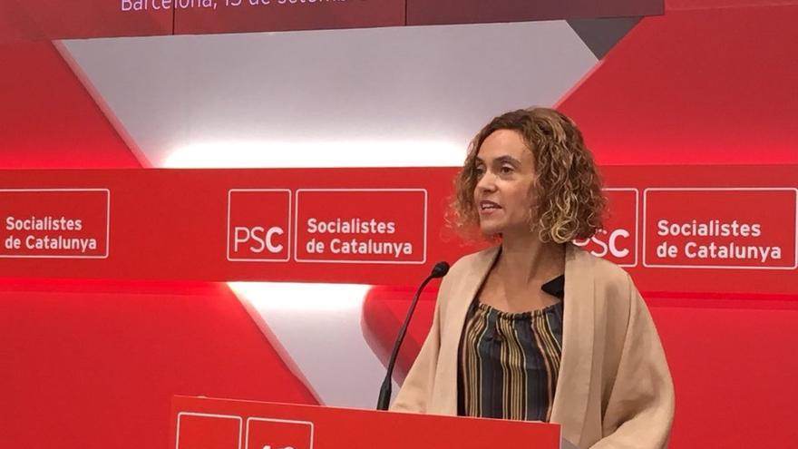 """Batet celebra que el PSOE ha abierto una """"agenda de normalidad"""""""