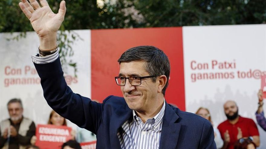 Patxi López: La derecha no teme a Susana ni a Pedro, sino a un PSOE unido