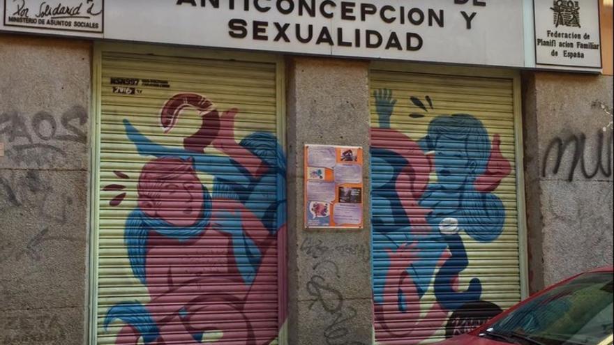 El CJAS, gestionado por la Federación Estatal de Planificación Familiar, en la calle Vicente Ferrer.