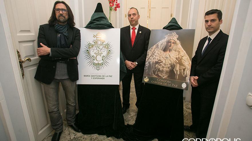 Presentación del logotipo y la imagen de la pro coronación de la Paz.   RAFA MADERO