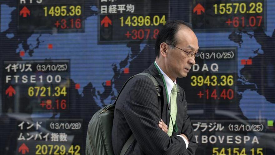 Tokio avanza de manera moderada por la debilidad del yen