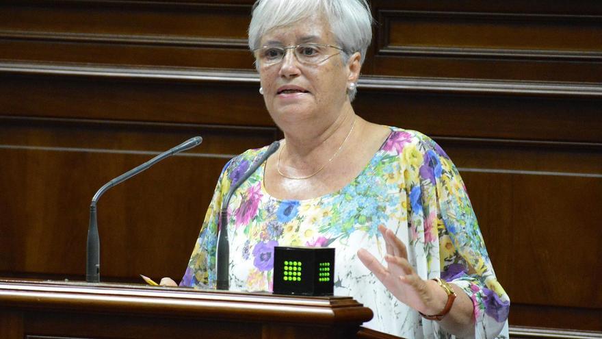 María Victoria Hernández, diputada de La Palma por el PSOE en el Parlamento de Canarias.