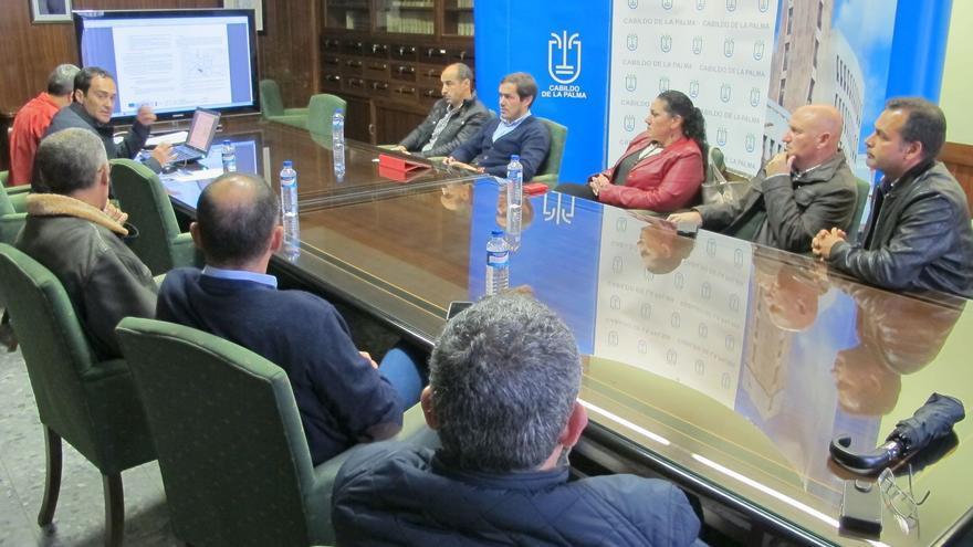 En la imagen, presentación del Plan Director de la Zona Comercial Abierta de El Paso.