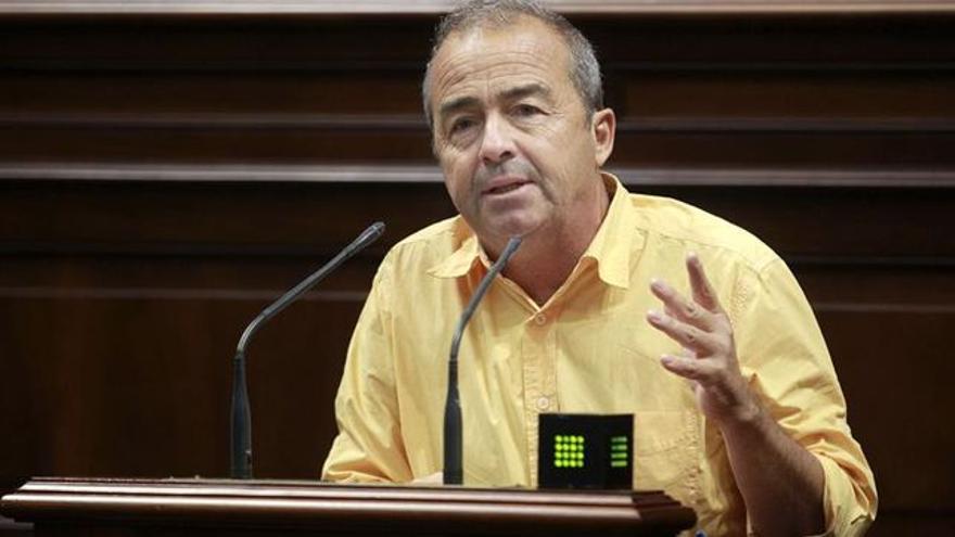 Francisco Déniz, diputado de Podemos en la Cámara regional