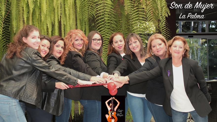 En la imagen, integrantes del proyecto 'Son de Mujer'.