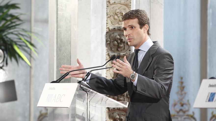 Casado reta a Sánchez a someterse a una cuestión de confianza para ver sus apoyos en el Congreso