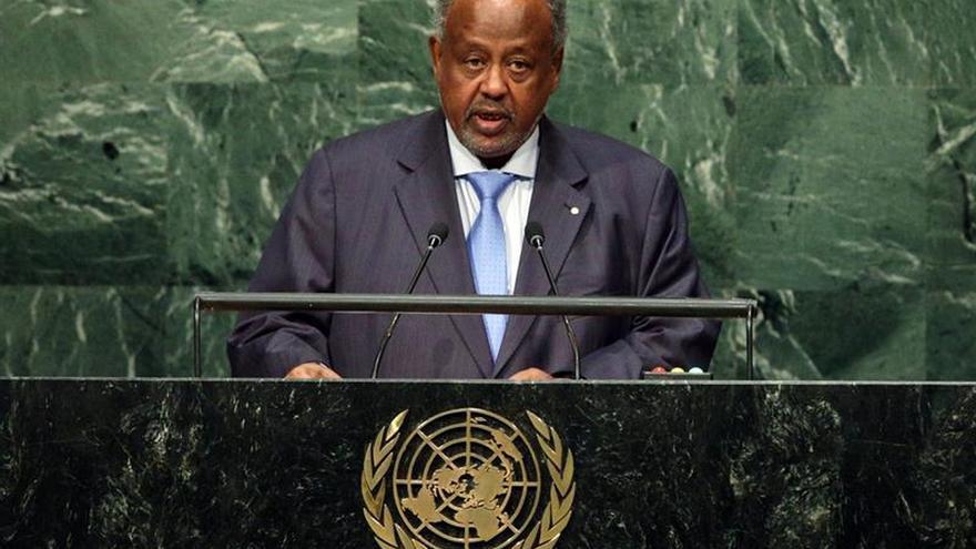 El presidente de Yibuti es reelegido con el 86 % de los votos, según el Gobierno