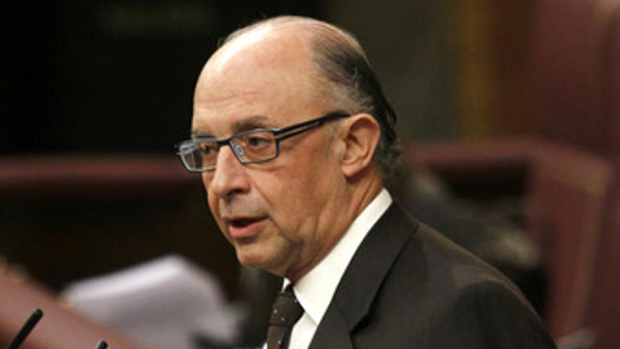 Cristóbal Montoro (PP) en el Congreso