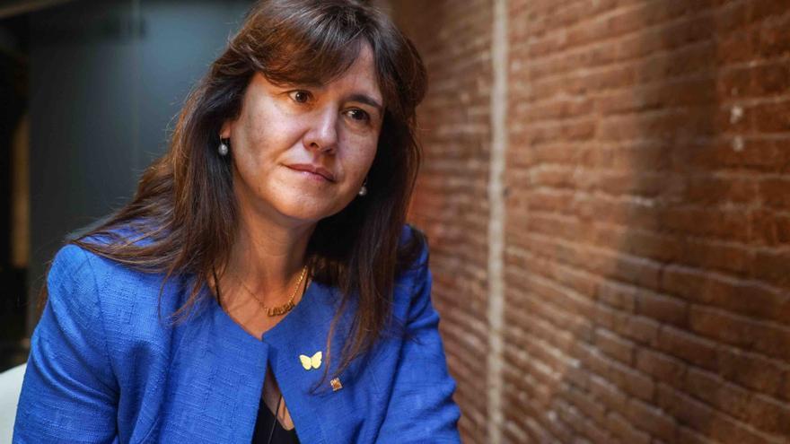 Laura Borràs es candidata de Junts per Catalunya