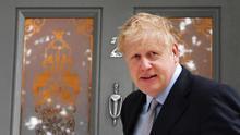 El exalcalde de Londres Boris Johnson.