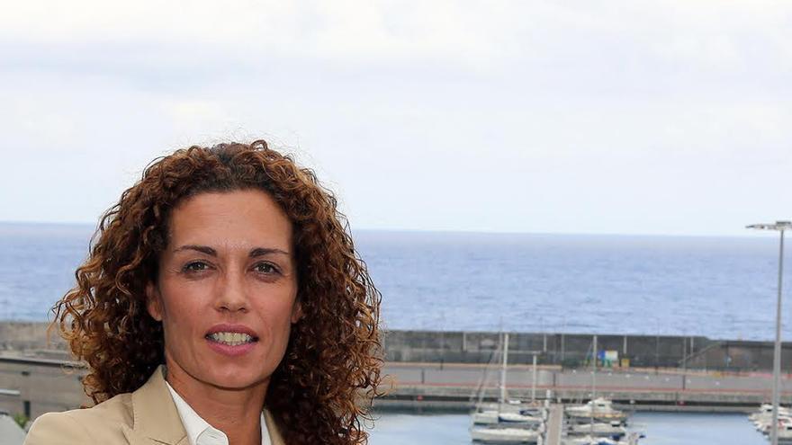 María Nieves Cobiella, candidata al Senado por La Palma