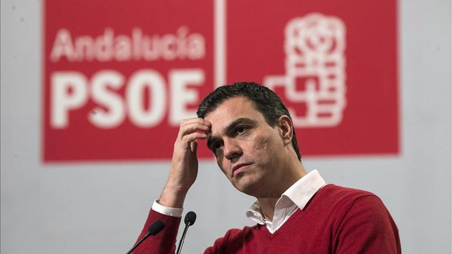 Sánchez rechaza la coalición PP-PSOE: Lo que queremos es echarle, señor Rajoy