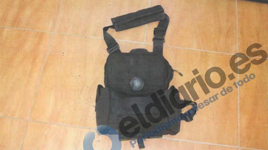 Así son las pelotas de goma empleadas para evitar el intento de entrada a Ceuta en el que murieron 15 inmigrantes en aguas fronterizas/Informe de la Guardia Civil