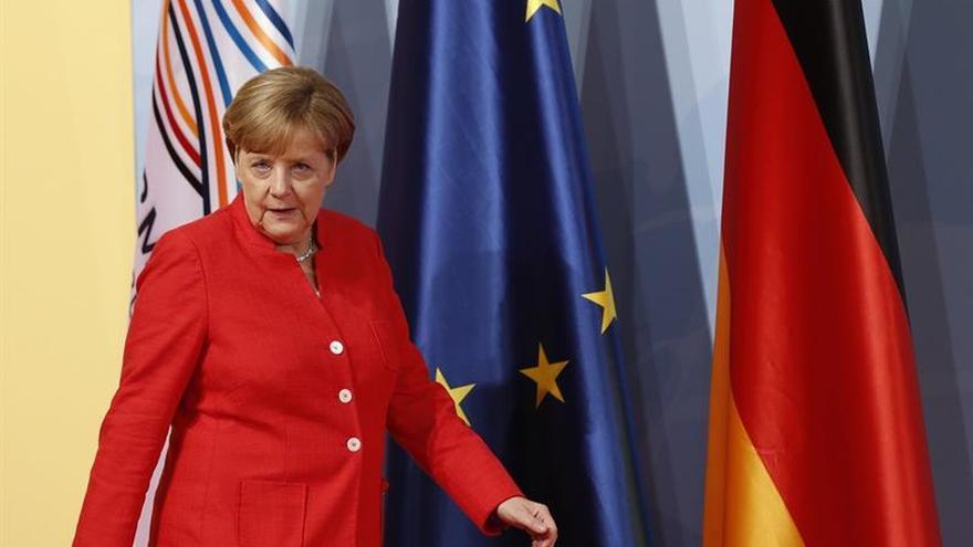 Merkel pide al G20 disposición para llegar a un acuerdo, pero sin perder su esencia