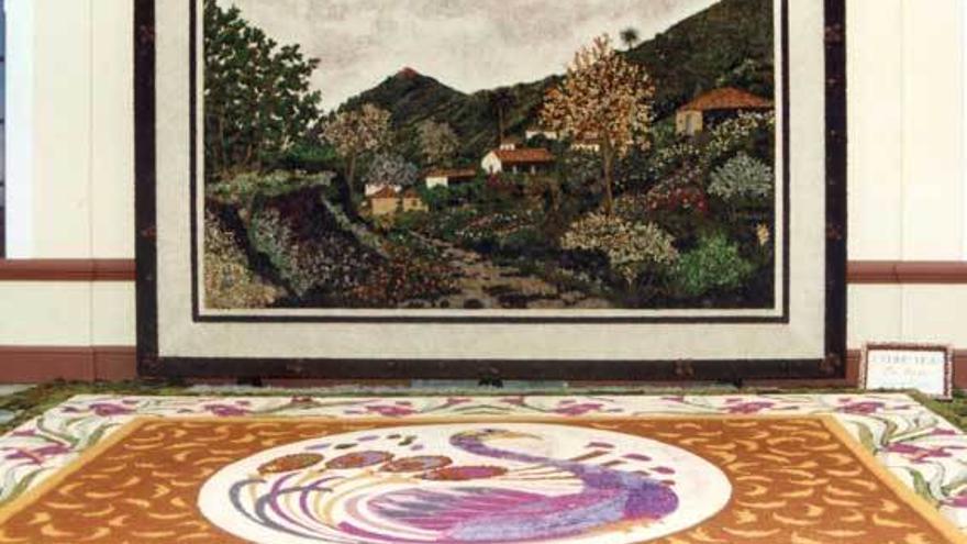 Imagen de archivo del tapiz de Vila de Mazo.