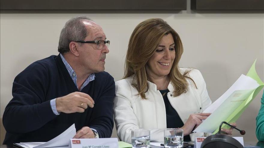 """El PSOE pide a Moreno que """"deje de ensuciar"""" la campaña con falsas acusaciones"""