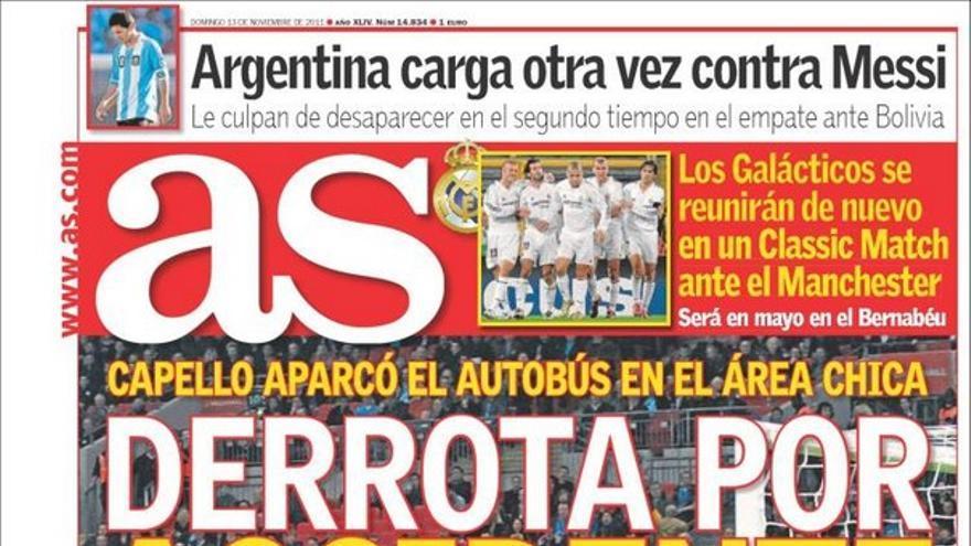 De las portadas del día (13/11/2011) #13