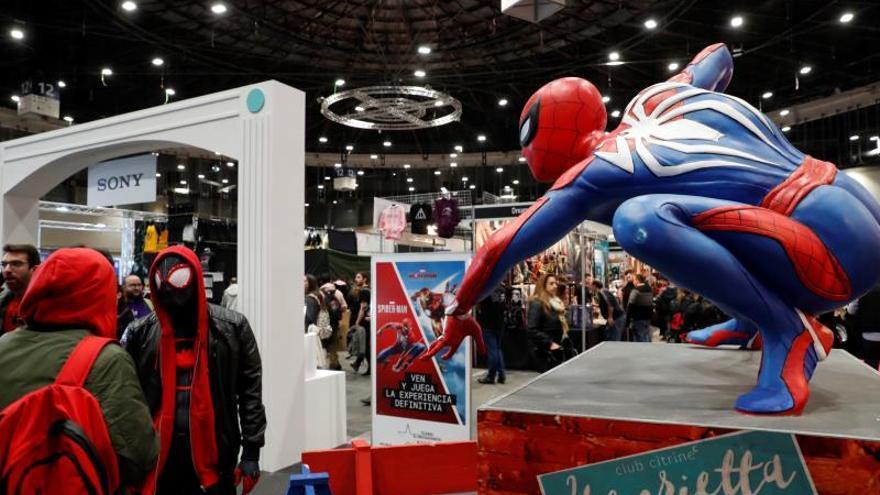 La tercera edición de Heroes Comic Con Madrid cierra con 45.000 visitantes