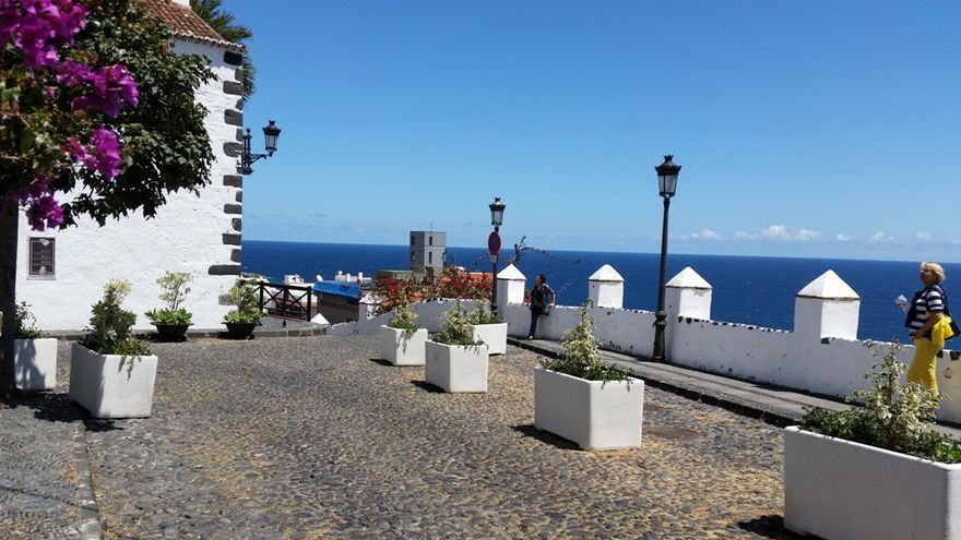 En la imagen, Plaza de La Luz de Santa Cruz de La Palma.