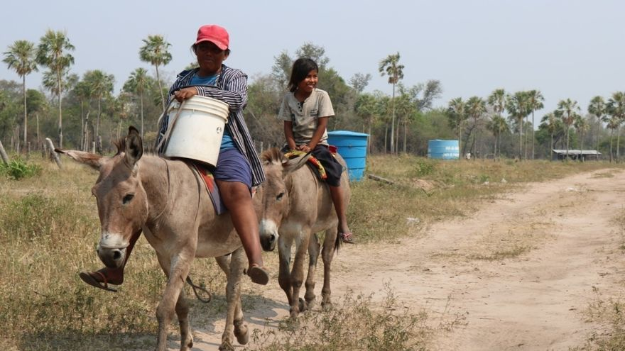 Indígenas paraguayos pedirán al Congreso un aumento en el presupuesto