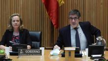 Segundo rifirrafe en la Comisión de Reconstrucción con enfado de Patxi López